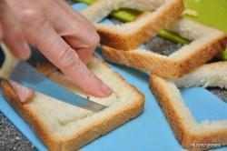 Príprava receptu Plnené sendviče - 2 druhy, krok 3