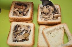 Príprava receptu Plnené sendviče - 2 druhy, krok 4