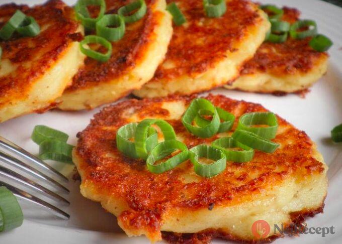 Recept Tvarůžkové placičky s tvarohem