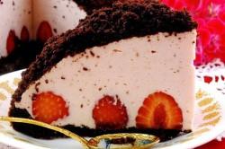 Príprava receptu Krtkova torta s jahodami, krok 6
