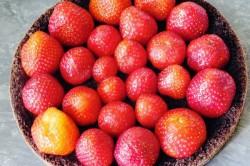 Príprava receptu Krtkova torta s jahodami, krok 2