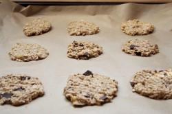 Příprava receptu Zdravé FITNESS cookies ze 2 surovin, krok 2