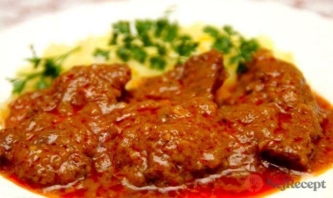 Recept Hovězí maso v marinádě