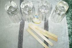 Příprava receptu Domácí KIWI nanuky, krok 2