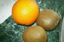 Příprava receptu Domácí KIWI nanuky, krok 1