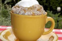 Příprava receptu Sněhový dezert bez mouky, krok 1