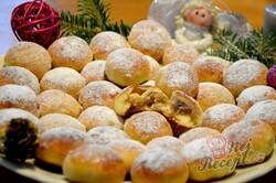 Příprava receptu Kynuté vánoční bochánky, krok 4