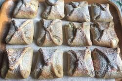 Příprava receptu Křehké taštičky ze zakysané smetany bez kynutí hotové hned, krok 12