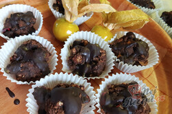 Příprava receptu Marokánkové košíčky s čokoládovou polevou, krok 1