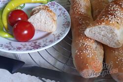 Příprava receptu Křupavé francouzské bagety s majonézou, krok 4