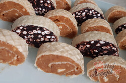 Tradiční recept na grilážové a burizónové rolády, kterých chuť Vás vrátí do dětství., krok 1