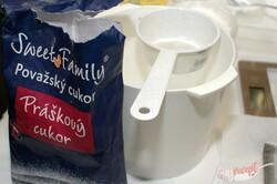 Příprava receptu Nejlepší bílková poleva na perníčky, krok 1