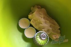 Příprava receptu Karamelové košíčky polité čokoládovou polevou, krok 3