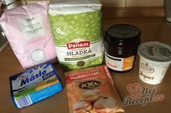 Příprava receptu Falešné linecké těsto z bílého jogurtu, krok 1