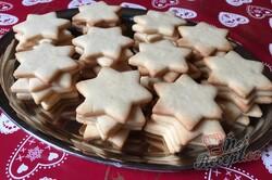 Příprava receptu Linecké hvězdičky plněné pařížským krémem, krok 5