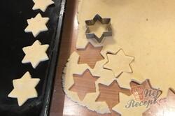 Příprava receptu Linecké hvězdičky plněné pařížským krémem, krok 3
