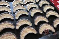 Příprava receptu Kokosové foukané rohlíčky, krok 5