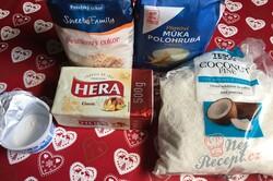 Příprava receptu Kokosové foukané rohlíčky, krok 1