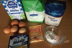 Příprava receptu Větrník jako roláda - nejlepší dezert z cukrárny, krok 1