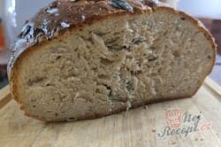 Příprava receptu Poctivý domácí chléb se semínky, krok 3