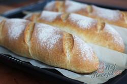 Příprava receptu Křupavé domácí bagety, které nahradí jakékoliv pečivo z obchodu., krok 8