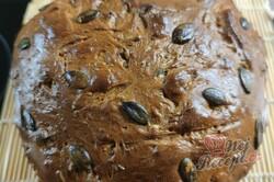 Příprava receptu Poctivý domácí chléb se semínky, krok 2