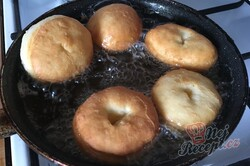 Příprava receptu Dokonalé pribináčekove koblihy, krok 8