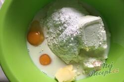 Příprava receptu Fánky z tvarohu, krok 2