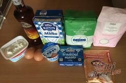 Příprava receptu Fánky z tvarohu, krok 1
