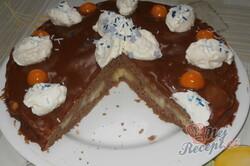 Recept Zdravější vanilkovo-kakaové brownies s cottage sýrem