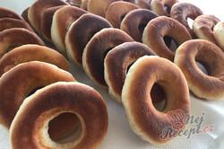Příprava receptu Nejlepší smažené koblihy (donuty) s čokoládovou polevou, krok 5