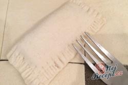 Příprava receptu Kapsičky z listového těsta plněné slanou/sladkou nádivkou, krok 3