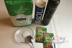 Hrníčkové bagety podle jednoduchého receptu, krok 1