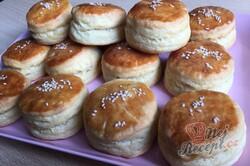 Příprava receptu Pagáče z taveného sýra a zakysané smetany, krok 6
