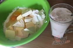 Příprava receptu Pagáče z taveného sýra a zakysané smetany, krok 2