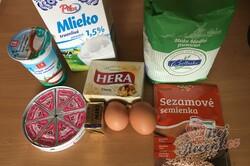 Příprava receptu Pagáče z taveného sýra a zakysané smetany, krok 1