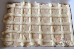 Příprava receptu Jablečná krémová mřížka na hrnky, krok 6
