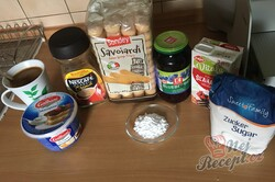 Příprava receptu Tiramisu s borůvkami, krok 6