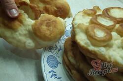 Příprava receptu Langoše z bílého jogurtu bez droždí, krok 3