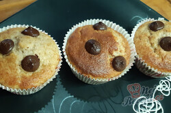 Příprava receptu Chutné banánové muffiny s čokoládou, krok 2