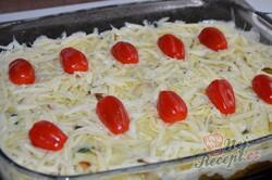 Příprava receptu Rychlý oběd nebo večeře bez smažení. Brambory s mletým masem se sýrovou přikrývkou., krok 8