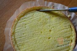 """Příprava receptu Jednoduchý tvarohový dort s meruňkami """"Sluneční pozdrav"""", krok 5"""