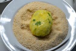 Příprava receptu Konkurence smaženého sýra. Pár minut a večeře je hotová!, krok 10