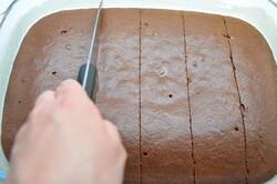 """Příprava receptu Čokoládová buchta """"grankáčik"""" připravena za 15 minut, krok 11"""