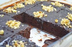 """Příprava receptu Čokoládová buchta """"grankáčik"""" připravena za 15 minut, krok 14"""