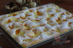 Příprava receptu Hrníčková litá buchta s tvarohem a mandarinkami, krok 4