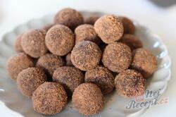 Příprava receptu Extra kakaové kuličky bez pečení se salkem hotové za 10 minut, krok 1