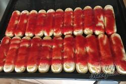 Příprava receptu Sladké jahodové tiramisu, krok 2