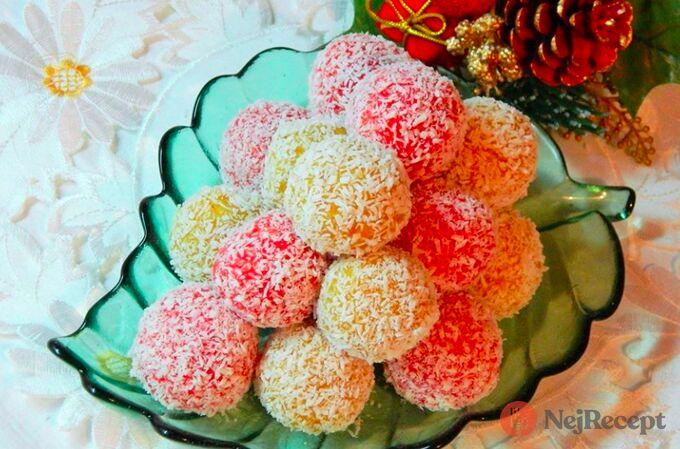 Recept Nepečené kulky ze sušeného ovoce