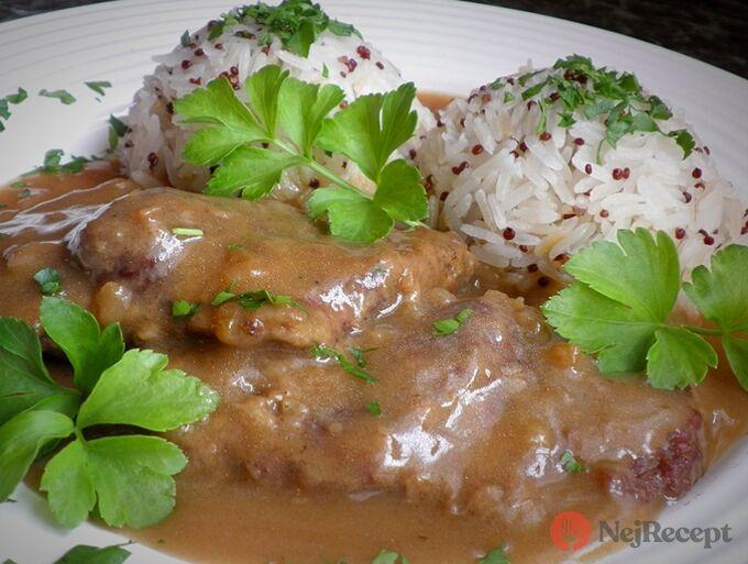 Recept Hovězí roštěná a jasmínová rýže s červenou quinoou